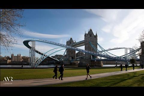 tower bridge - april fool